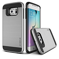 Недорогие Чехлы и кейсы для Samsung-Кейс для Назначение SSamsung Galaxy Кейс для  Samsung Galaxy Защита от удара Кейс на заднюю панель Сплошной цвет ПК для S8 Plus S8 S7