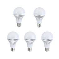 E26/E27 Bulb LED Glob A60(A19) 15 led-uri SMD 5630 Decorativ Alb Cald Alb Natural 330-360lm 2700-3200/6000K AC 220-240V