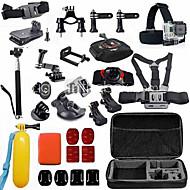 お買い得  スポーツカメラ & GoPro 用アクセサリー-ヘッドストラップ 取付方法 調整可 防水 防塵 フローティング 多機能 便利 ために アクションカメラ フリーサイズ Gopro 5 Xiaomi Camera Gopro 4 Black Gopro 4 Session Gopro 4 Silver Gopro 4