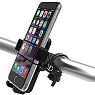 abordables Accesorios para Ciclismo y Bicicleta-Montura de Teléfono para Bicicleta Ajustable Ciclismo / Bicicleta ABS Negro - 2pcs