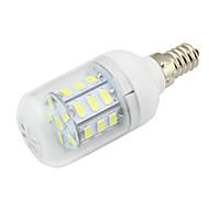2w átlátszó pvc fedél e14 led corn light 27 smd 5730 150-200lm ac / dc 12-24v vagy ac 110-220v meleg / hideg fehér 1db