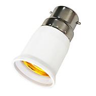 abordables Bases de Lámpara-B22 a E27 E27 85-265 V Enchufe de la luz El plastico
