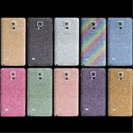 Недорогие Чехлы и кейсы для Galaxy Note-Кейс для Назначение SSamsung Galaxy Samsung Galaxy Note Other Чехол Сияние и блеск PC для Note 4