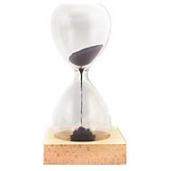 お買い得  -砂時計 アイデアジュェリー 調度品 ガラス 鉄 男の子 女の子 おもちゃ ギフト 1 pcs