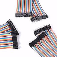 cheap Arduino Accessories-Universal Male to Male / Male to Female / Female to Female DuPont Cables Set for Arduino