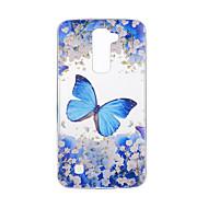 preiswerte Handyhüllen-Hülle Für LG G3 / LG K8 / LG Muster Rückseite Schmetterling Weich TPU für LG V20 / LG V10 / LG G4 / LG K10