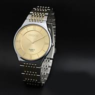 CHENXI® Muškarci Ručni satovi s mehanizmom za navijanje Kvarc Japanski kvarc Nehrđajući čelik Grupa Srebro Zlato Crn Pink