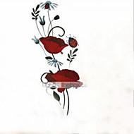 billige Artikler til hjemmet-Sille Liv Romantik Mode Blomster Botanisk Tegneserie Vægklistermærker Fly vægklistermærker Dekorative Mur Klistermærker Hjem Dekoration