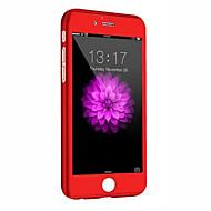 Недорогие Кейсы для iPhone 8 Plus-Кейс для Назначение Apple iPhone 8 iPhone 8 Plus iPhone 6 iPhone 6 Plus Защита от удара Чехол броня Твердый ПК для iPhone 8 Pluss iPhone
