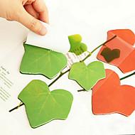 preiswerte Schreibwaren-Simulation Blätter Design 45 Seiten Haftnotiz (sortierte Farbe)