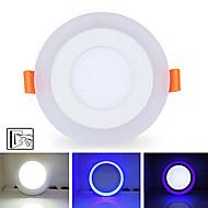 οδήγησε φώτα οροφής 20 smd 2835 900lm φυσικό λευκό μπλε 5500-6500k dimmable διακοσμητικά ac 85-265v