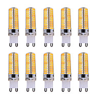 G9 LED Corn Lights T 80 SMD 5730 500-700 lm Warm White Cold White 2800-3200/6000-6500 K Dimmable Decorative AC 110/220 V 10pcs