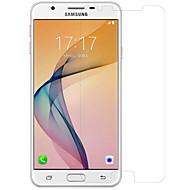 Transparante kunststof High-Definition (HD) Spiegel Ultra dun Voorkant screenprotector Samsung Galaxy Galaxy J7 Prime