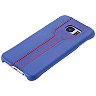 お買い得  Samsung 用 ケース/カバー-ケース 用途 Samsung Galaxy S7 edge S7 耐衝撃 バックカバー 純色 ハード PC のために S7 edge S7 S6 edge S6