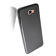 お買い得  Samsung 用 ケース/カバー-ケース 用途 Samsung Galaxy J7 Prime J5 Prime 耐衝撃 バックカバー 純色 ソフト TPU のために J7 Prime J7 (2016) J7 J5 Prime J5 (2016) J5 J2 Prime J1 Mini J1 (2016)