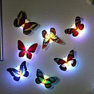 7 Color Changing Butterfly LED Night Light Lamp High Quality