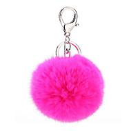 お買い得  おもちゃ & ホビーアクセサリー-Key Chain 球体 Key Chain ダイアモンド メタル プラッシュ