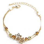 billige -Dame Kæde & Lænkearmbånd Venskab kostume smykker Sølv Smykker Smykker Til Daglig Afslappet
