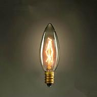 E14 25W C35 Burning Tip Of The Yellow Light 220V Edison Light Bulb Small Lo Lo Retro Retro Light Source