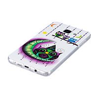 Недорогие Чехлы и кейсы для Galaxy A3(2016)-Кейс для Назначение SSamsung Galaxy Сияние в темноте IMD Кейс на заднюю панель Сова Мягкий ТПУ для A5(2016) A3(2016)