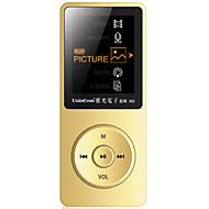 UnisCom MP3/MP4 MP3 WMA WAV FLAC APE OGG AAC Batería li-ion recargable