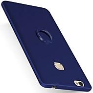 Недорогие Чехлы и кейсы для Huawei Honor-Кейс для Назначение Huawei P9 Huawei Honor V8 Huawei Huawei P9 Plus Кольца-держатели Кейс на заднюю панель Сплошной цвет Твердый ПК для