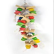 Ptak Zabawki dla Ptaków Wood Wielokolorowy