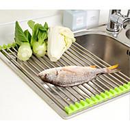 abordables Organización de encimera y pared-1pc Repisas y Soportes Acero Inoxidable Fácil de Usar Organización de cocina