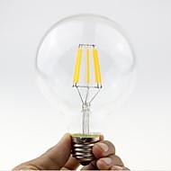 halpa LED-hehkulamput-1kpl 5.5W 600 lm B22 E26/E27 LED-hehkulamput G95 6 ledit COB Himmennettävissä Lämmin valkoinen 2700-3500 K AC 220-240 AC 110-130 V