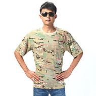 Unisex Camiseta Caza Transpirable Listo para vestir Verano Camuflaje