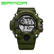 preiswerte -SANDA Herren Sportuhr Militäruhr Smart Uhr Modeuhr Armbanduhr digital Japanischer QuartzLED Kalender Fitness Tracker Stopuhr Nachts
