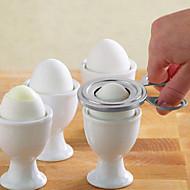 お買い得  キッチン用小物-キッチンツール ステンレス鋼 クリエイティブキッチンガジェット はさみ 卵のための 1個