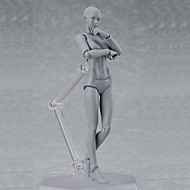 cheap Toys & Hobbies-Display Model Model Building Kit Posable Art Mannequin Toys Art Supplies PVC Boys' Pieces