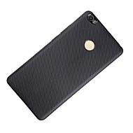 Mert Ütésálló Case Hátlap Case Egyszínű Puha Szénszál mert XiaomiXiaomi Mi Max Xiaomi Redmi 3 Xiaomi Redmi Note 4 Xiaomi Redmi Note 3