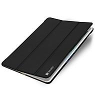 Недорогие Гаджеты для iPad-Кейс для Назначение Apple iPad Air 2 С функцией автовывода из режима сна Оригами Чехол Сплошной цвет Твердый Кожа PU для iPad Air 2 Apple