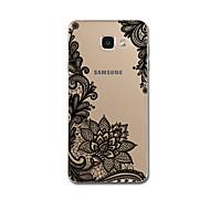 Varten Ultraohut Kuvio Etui Takakuori Etui Pitsidesign Pehmeä TPU varten Samsung A7(2016) A5(2016)