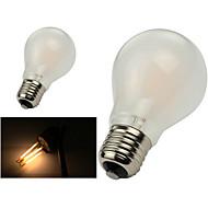 halpa LED-pallolamput-e26 / e27 led-hehkulamppua a60 (a19) 8 korkki 800lm lämmin valkoinen 2800-3200k himmennettävä akku 220-240 ac 110-130v
