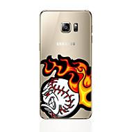 Для С узором Кейс для Задняя крышка Кейс для Мультяшная тематика Мягкий TPU для Samsung S7 edge S7 S6 edge plus S6 edge S6 S5 S4