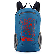 18 L 배낭 캠핑 & 하이킹 여행 야외 프랙티스 내장 주전자 가방 착용할 수 있는 통기성 블랙 블루 나이론 CAMEL