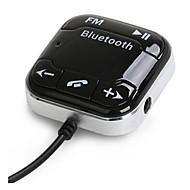 abordables 10% de DESCUENTO y Más-bt760 Bluetooth del coche del receptor de audio Bluetooth FM transmisor de teléfono de automóvil Bluetooth micrófono incorporado