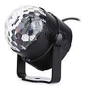 저렴한 -U'King LED 무대 조명 휴대용 쉬운 설치 음향 작동 그린 블루 레드