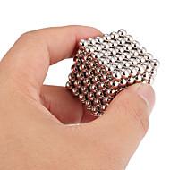 ราคาถูก ของเล่นแปลกใหม่-216 pcs 5mm Magnetiske leker ลูกบอลแม่เหล็ก Building Blocks ซูเปอร์แข็งแกร่งหายากของโลกแม่เหล็ก Neodymium Magnet ความเครียดและความวิตกกังวลบรรเทา ของเล่นโต๊ะทำงาน DIY ผู้ใหญ่ / สำหรับเด็ก