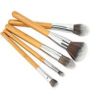 5 Četka Setovi Kist za rumenilo Kist za sjenilo Kist za korektor Kist za puder Kist za podlogu Contour Brush Synthetic Hair