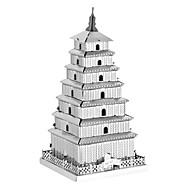 preiswerte Spielzeuge & Spiele-3D - Puzzle Holzpuzzle Metallpuzzle Turm Berühmte Gebäude Chinesische Architektur Kreativ Heimwerken Klassisch & Zeitlos Schick & Modern Spezialmodell Jungen Mädchen Spielzeuge Geschenk