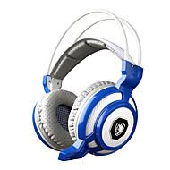 sades sa-905 värinätoimintoa syvä basso fone de ouvido pro pelaamista kuulokkeita 7 väriä johtanut peli kuulokkeet ja mikrofoni pc gamer