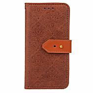 Назначение iPhone X iPhone 8 Чехлы панели Бумажник для карт со стендом Флип Рельефный Чехол Кейс для Цветы Твердый Искусственная кожа для