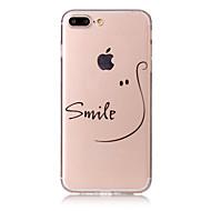 Coque Pour Apple iPhone 7 / iPhone 7 Plus Motif Coque Mot / Phrase Flexible TPU pour iPhone 7 Plus / iPhone 7 / iPhone 6s Plus