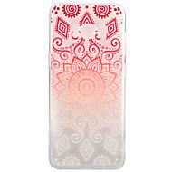 Etui Til Samsung Galaxy S8 Plus S8 Transparent Mønster Bagcover Mandala-mønster Blødt TPU for S8 S8 Plus