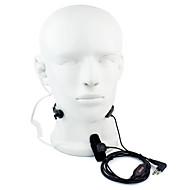 お買い得  -2ピンのピンチスロートマイクヘッドセットウォーキートーキーモトローラ用gp88 gp300 gp2000 hyt tc  -  500sのための隠れた音響管