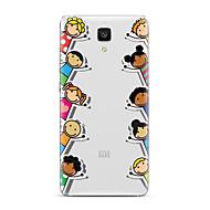 Χαμηλού Κόστους ΘΗΚΕΣ ΤΗΛΕΦΩΝΟΥ-Για Διαφανής Με σχέδια tok Πίσω Κάλυμμα tok Κινούμενα σχέδια Μαλακή TPU για XiaomiXiaomi Mi 5 Xiaomi Mi 4 Xiaomi Mi 5s Xiaomi Mi 5s Plus